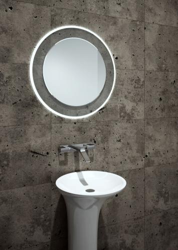 Lustro z ledami do łazienki - Lumineo Beta