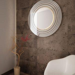 Lustro z oświetleniem do łazienki - Sun