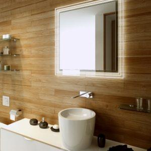 Lustro kwadratowe do łazienki - Steps