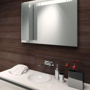 Lustro z szafką do łazienki - Reflex