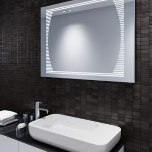 Prostokątne lustra łazienkowe -