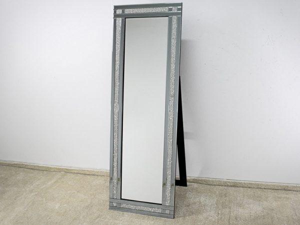 Lustro stojące srebrne - Laguna 60