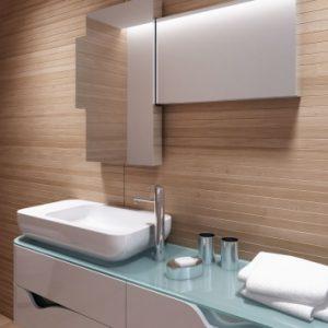 Szafka łazienkowa z lustrem - Sliding